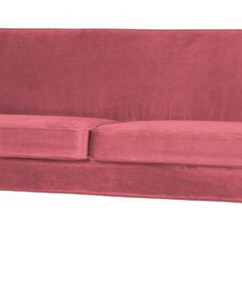 WOOOD Bank 'Rocco' 2,5-zits, Velvet, kleur Roze