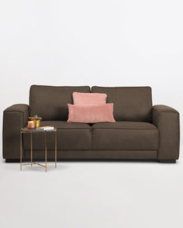 SoHome 3-zits Bank 'Stacie' kleur Taupe