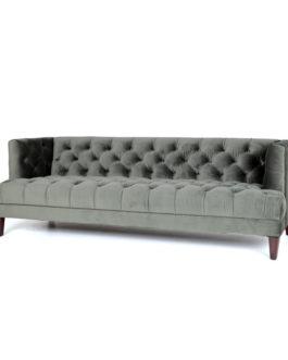 Eleonora Bank 'Vogue' Velvet 214cm, kleur groen